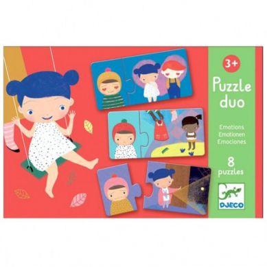 Djeco - Duo Puzzle Emocje