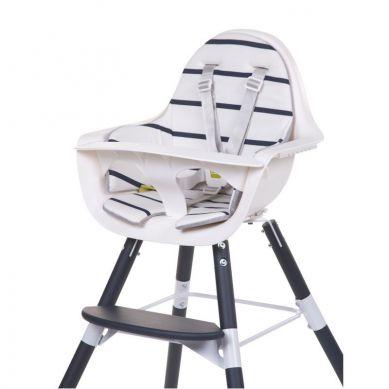 Childhome - Ochraniacz-poduszka do Krzesełka Evolu Jersey Dwustronna