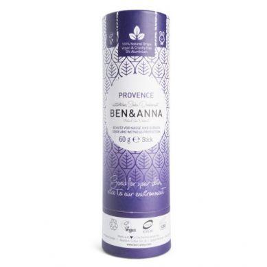 Ben and Anna - Naturalny Dezodorant na Bazie Sody Provence w Sztyfcie Kartonowym