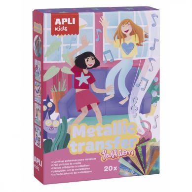 Apli Kids - Zestaw Artystyczny z Metalicznymi Kartkami