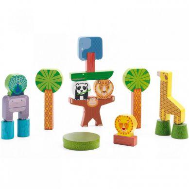 Djeco - Zabawka Wczenorozwojowa Stacky Jungle