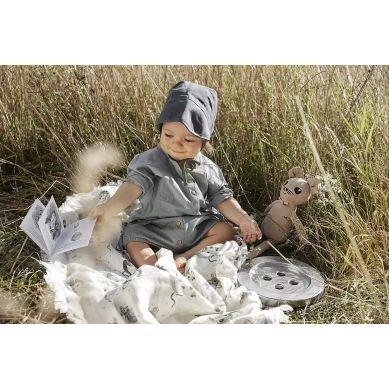 Elodie Details - Czapka Baby Bonnet Juniper Blue 6-12m