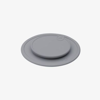 EZPZ - Silikonowa Pokrywka do Małego Talerzyka Mini Mat Szara