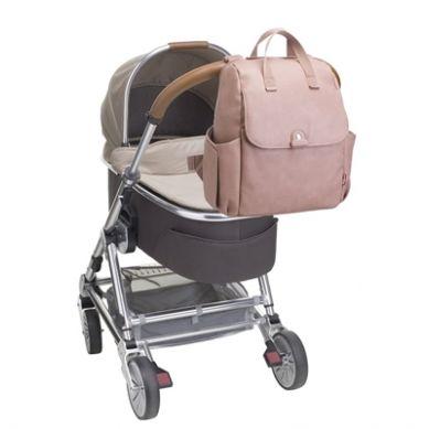 Babymel - Torba Plecak Robyn Dusty Pink Eko Skóra