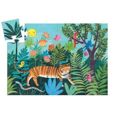 Djeco - Puzzle Tygrys 24el.