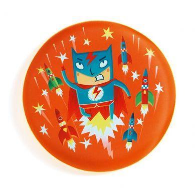 Djeco - Latający Dysk Super Bohater 4+