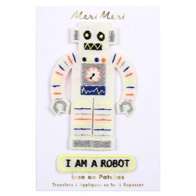 Meri Meri - Zestaw Naprasowanek Robot