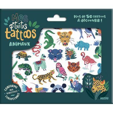 Auzou - Tatuaże Zwierzęta 3+