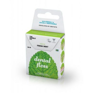 Humble Brush - Nić Dentystyczna o Smaku Miętowym Mint 50m