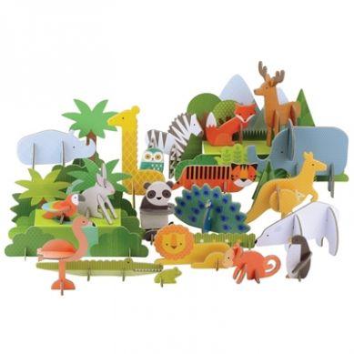 Petit Collage - Deluxe Puzzle Przestrzenne