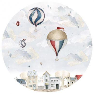 Dekornik - Naklejka Balloons In A Circle L