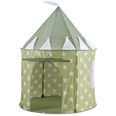 Kids Concept - Namiot Zielony w Gwiazdki
