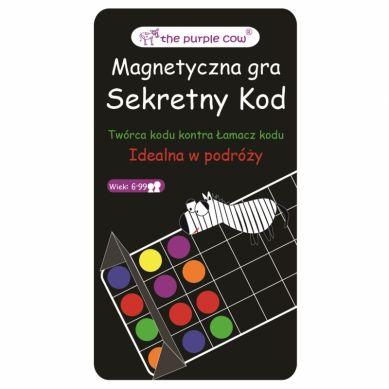 The Purple Cow - Gra Magnetyczna Mastermind/ Secret Code 6+