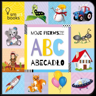 Wydawnictwo Smart Books - Moje Pierwsze ABC Abecadło