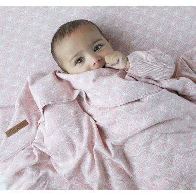 Little Dutch - Otulacze 70x70cm 2 szt Lily Leaves Pink