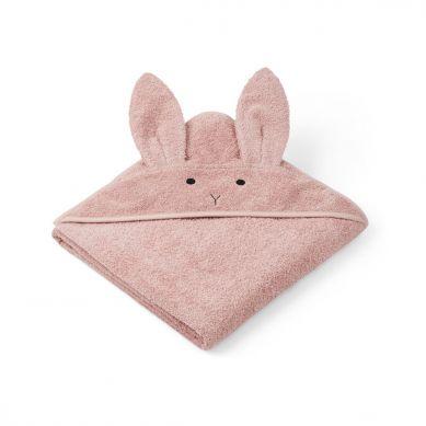 Liewood - Ręcznik z Kapturem Rabbit Rose 100cm x 100cm