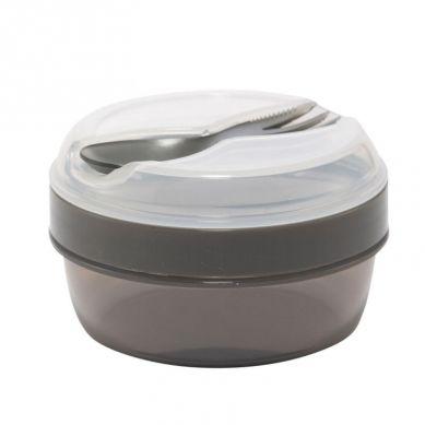 Carl Oscar - N'ice Cup™ Pojemnik Śniadaniowy z Wkładem Chłodzący Grey Spider
