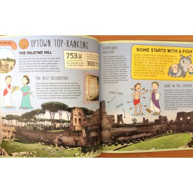 Wydawnictwo Lonely Planet Kids - City trails Rome
