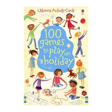 Wydawnictwo Usborne Publishing - 100 games to play on holiday