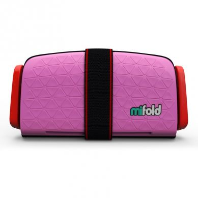 Mifold - Kompaktowy Fotelik Samochodowy Różowy