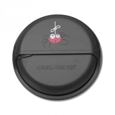 Carl Oscar - Rotable SnackDISC™ 5 komorowy obrotowy pojemnik na przekąski Grey Spider