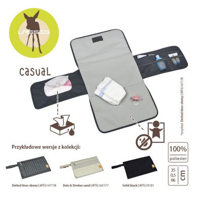Laessig - Casual Label Zestaw do Przewijania Solid Black