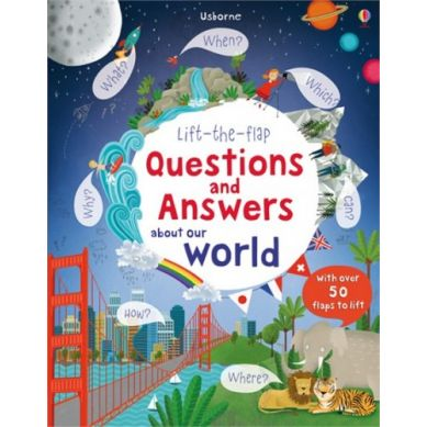 Wydawnictwo Usborne Publishing - Lift-the-flap questions and answers about our world