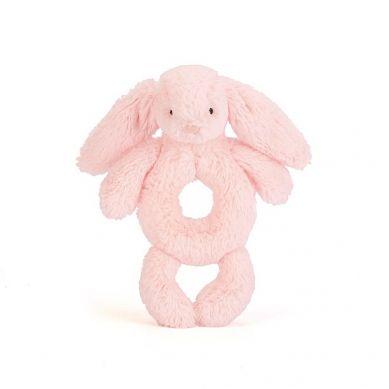 Jellycat - Grzechotka Króliczek Pink