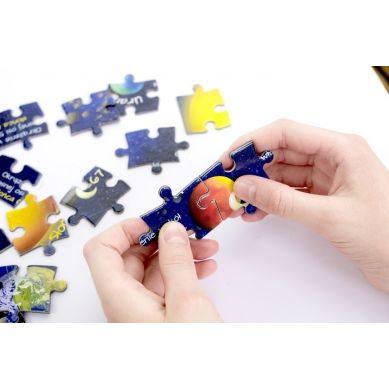 Maka Kids - Puzzle Magnetyczne Poznaje Planety Pudełko z Uchwytem