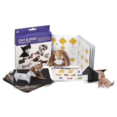 NPW ROW - Zestaw Origami Cat & Dog