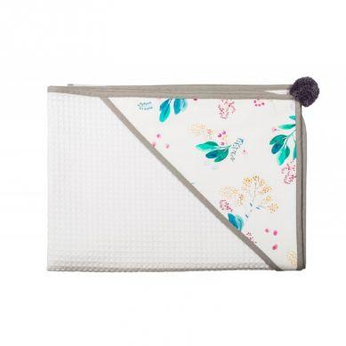 Malomi Kids - Ręcznik Garden Blushl 90x90 Grey