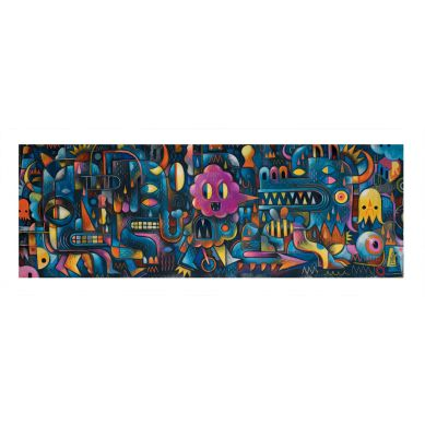 Djeco Puzzle Artystyczne Dziecięcy Monster Wall 500 elementów