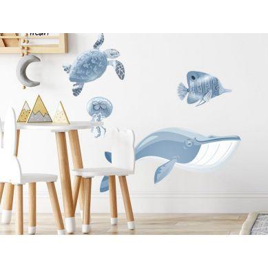 Pastelowelove - Naklejka na Ścianę Ocean