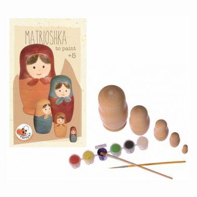 Egmont Toys - Drewniane Matrioszki Do Pomalowania