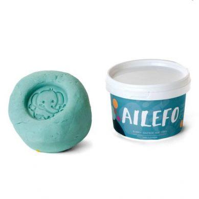 Ailefo - Organiczna Ciastolina Duże Opakowanie Niebieski 540g