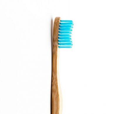 Humble Brush - Bambusowa Szczoteczka do Zębów dla Dorosłych Medium Niebieska