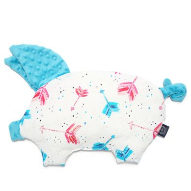 La Millou - Podusia do Wózka Sleepy Pig Boho Neon Arrows Teal