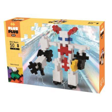 Plus Plus - Klocki Midi Basic 50szt Robot