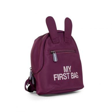 Childhome - Plecak Dziecięcy My First Bag Aubergine