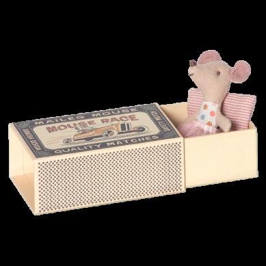 Maileg - Przytulanka Myszka Littlesister w Tiulowej Spódniczce w Pudełeczku
