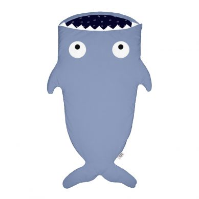 Baby Bites - Śpiworek Zimowy Shark Slate Blue 2-6 lat