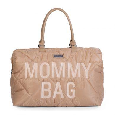 Childhome - Torba Mommy Bag Pikowana Beżowa