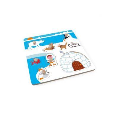 Scratch - Puzzle z Uchwytem Eskimos