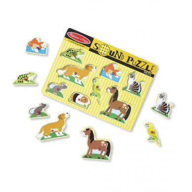 IMelissa & Doug - Puzzle z Dźwiękiem Pets