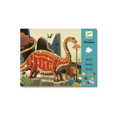 Djeco - Zestaw Mozaiek Dinozaury