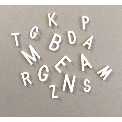 OMM Design - Literki do Tablicy Białe 2,5 cm