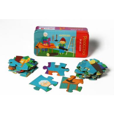 The Purple Cow Puzzle Pinokio 3+