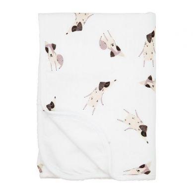 Maki Mon Ami - Cienki Kocyk Muślinowo-bawełniany Terrier Happy Pieski L