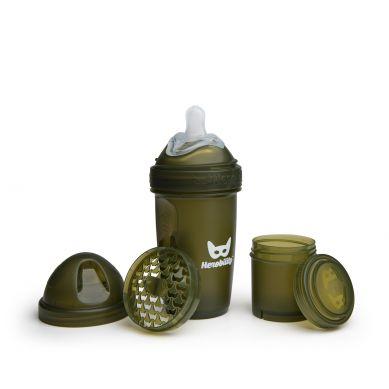 Herobility - Butelka Antykolkowa Herobottle 240ml Zielona