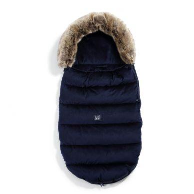La Millou - Śpiworek Zimowy Aspen Winterproof Velvet Collection Royal Navy